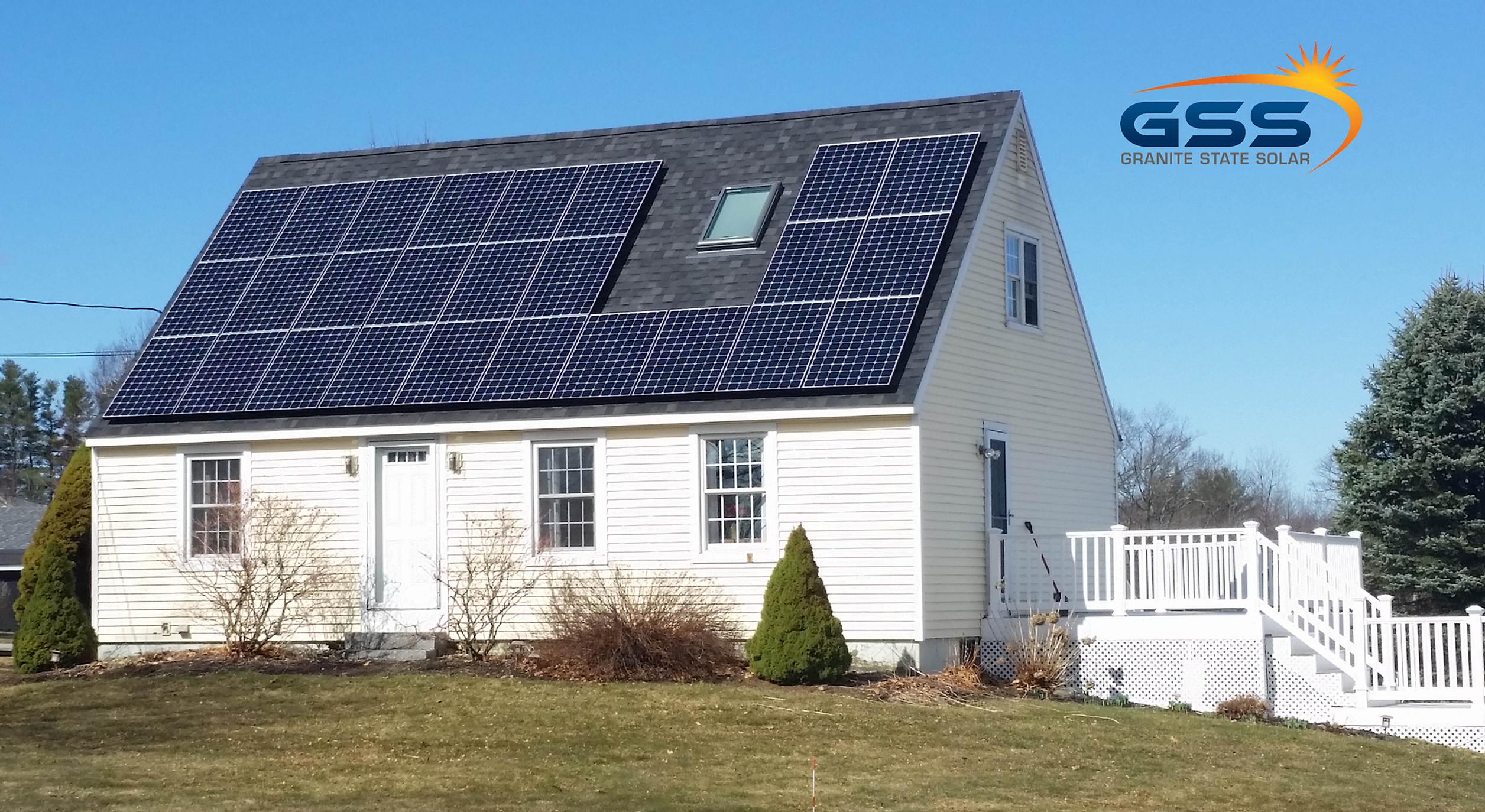 26 solar panel roof array